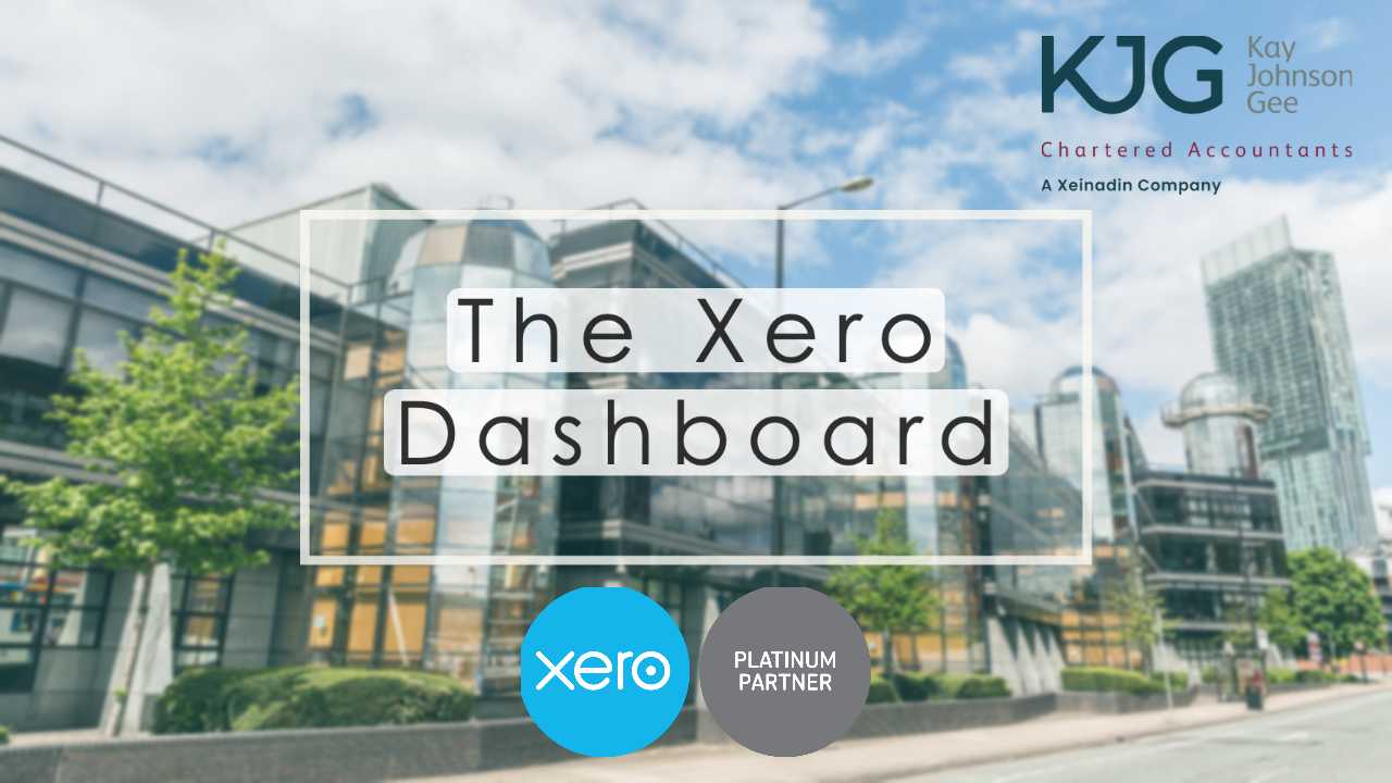 The Xero Dashboard