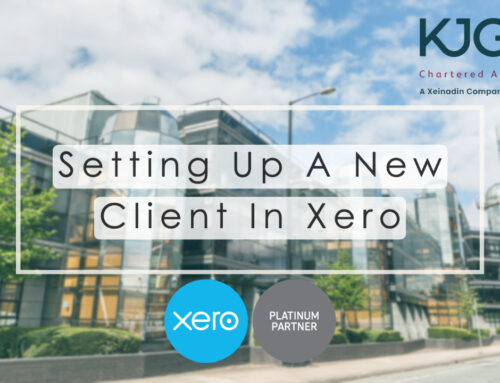 Xero Training: Setting Up A New Client