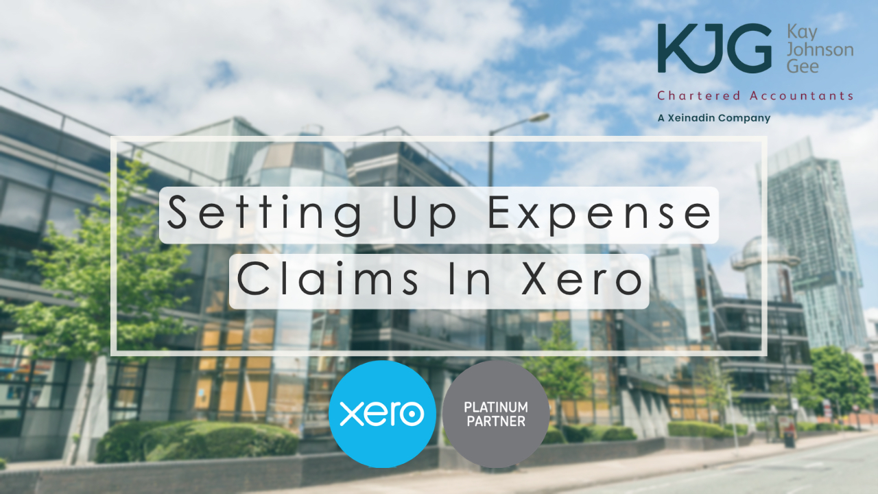 Setting Up Expense Claims