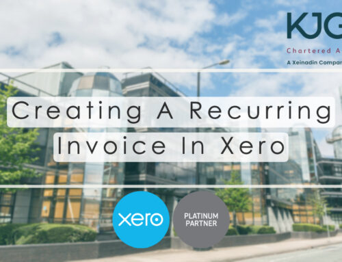 Xero Training: Setting Up A Recurring Invoice