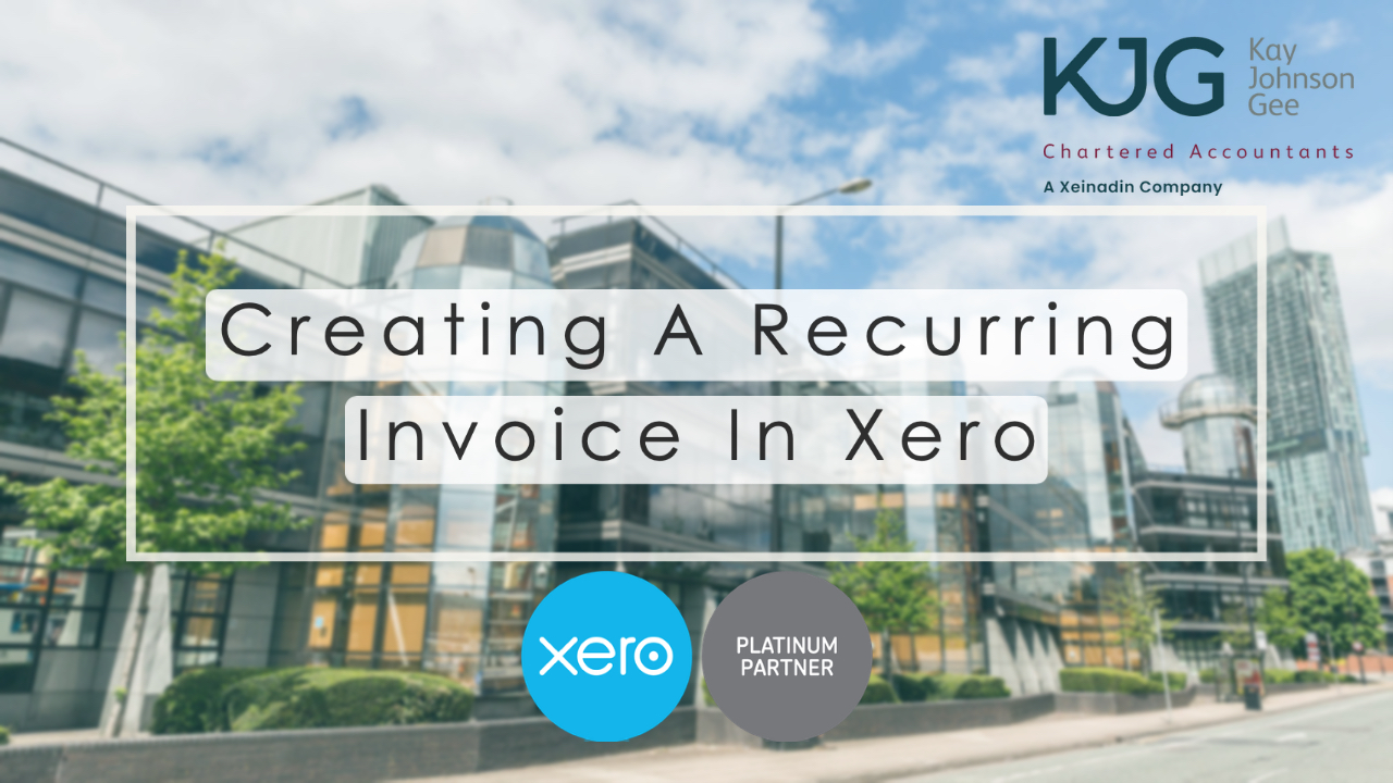 Setting Up A Recurring Invoice