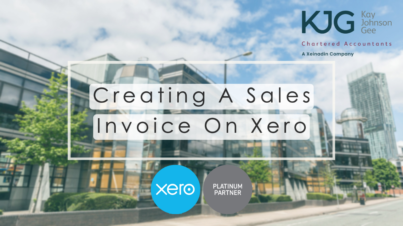 Creating an Invoice in Xero